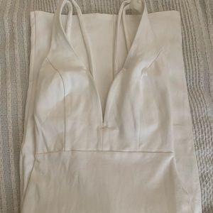 White lulus dress size: S